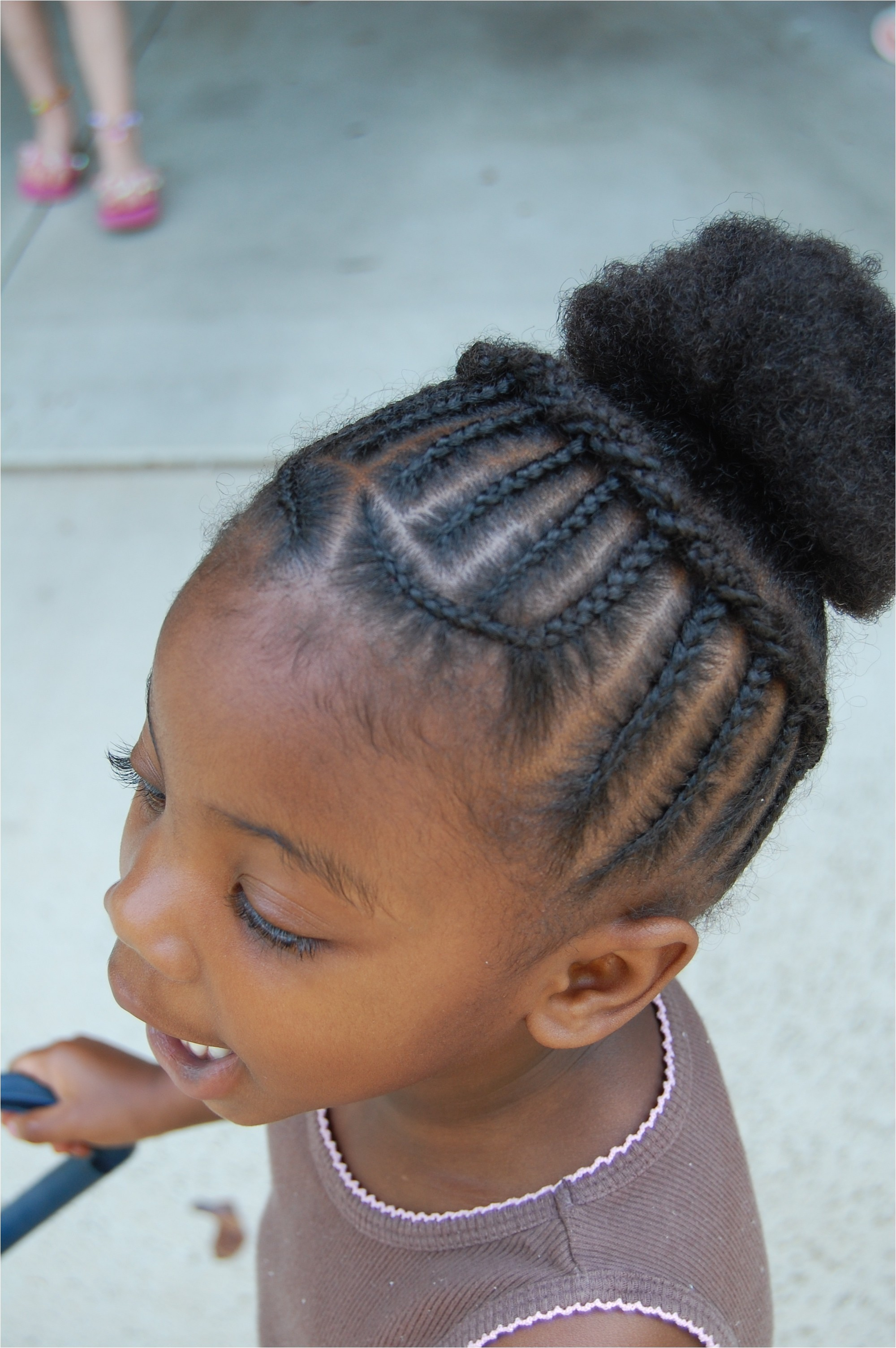 "Short Hairstyles For Little Black Girls Fresh Pin Od Poua…a¾vatea""a¾a Remarkable"