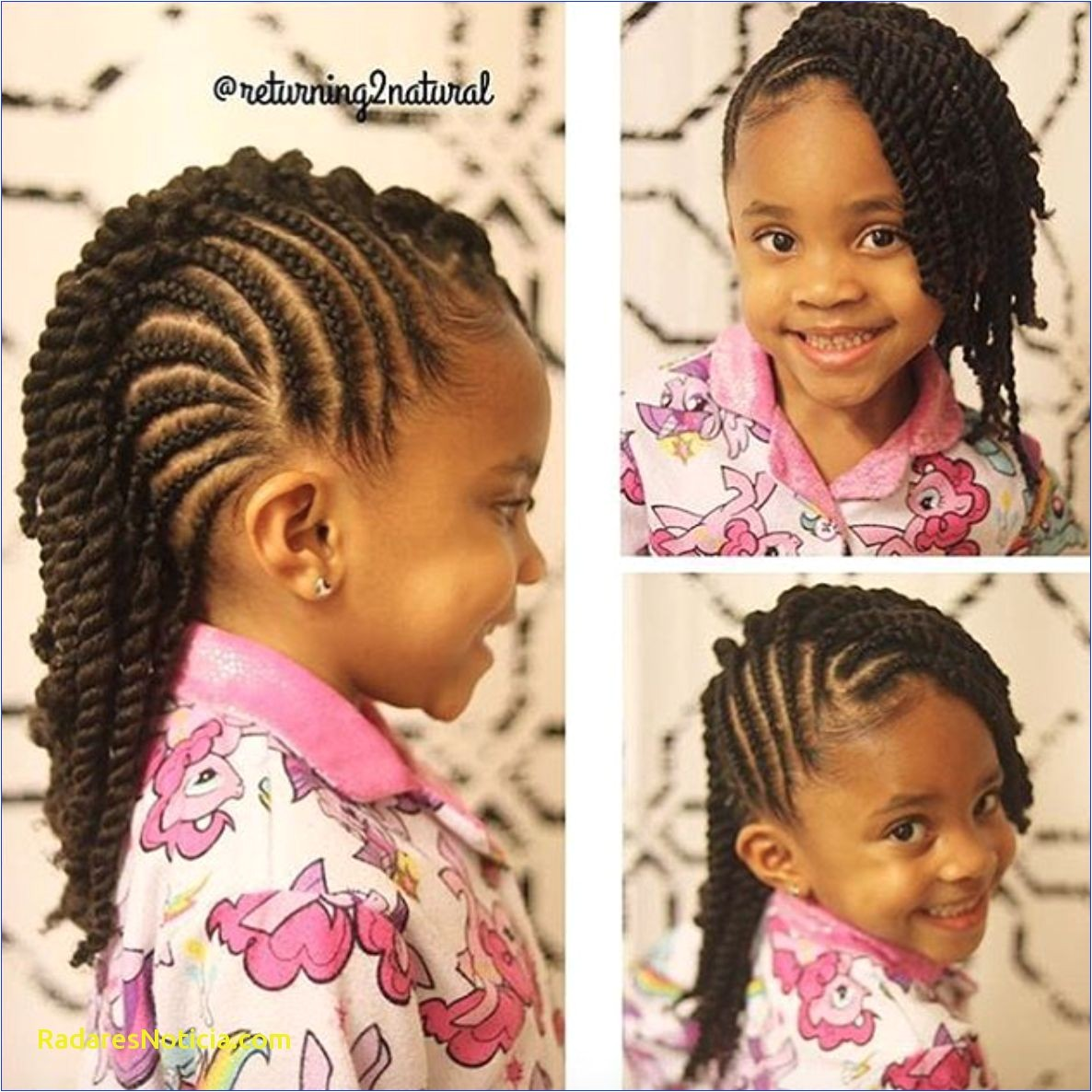 Unique Cornrow Hairstyles for 12 Year Olds