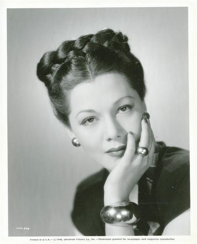 braided vintage hair