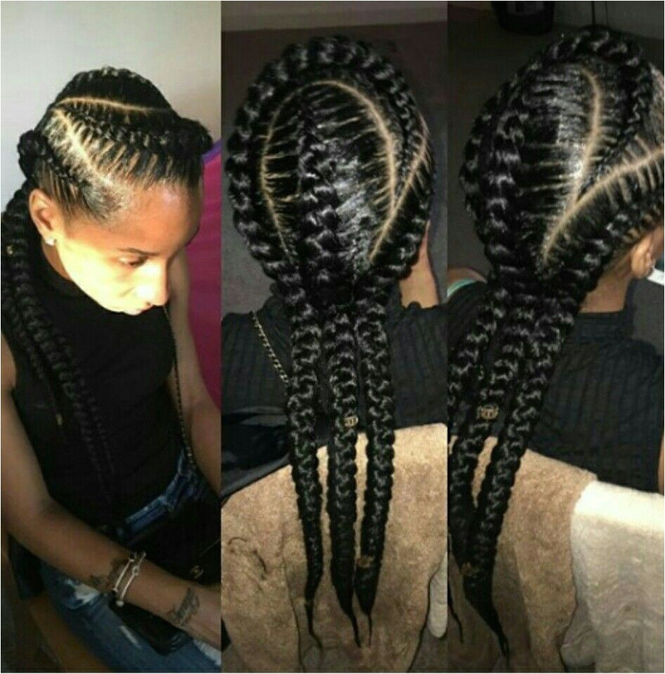 3 feed in cornrows I like