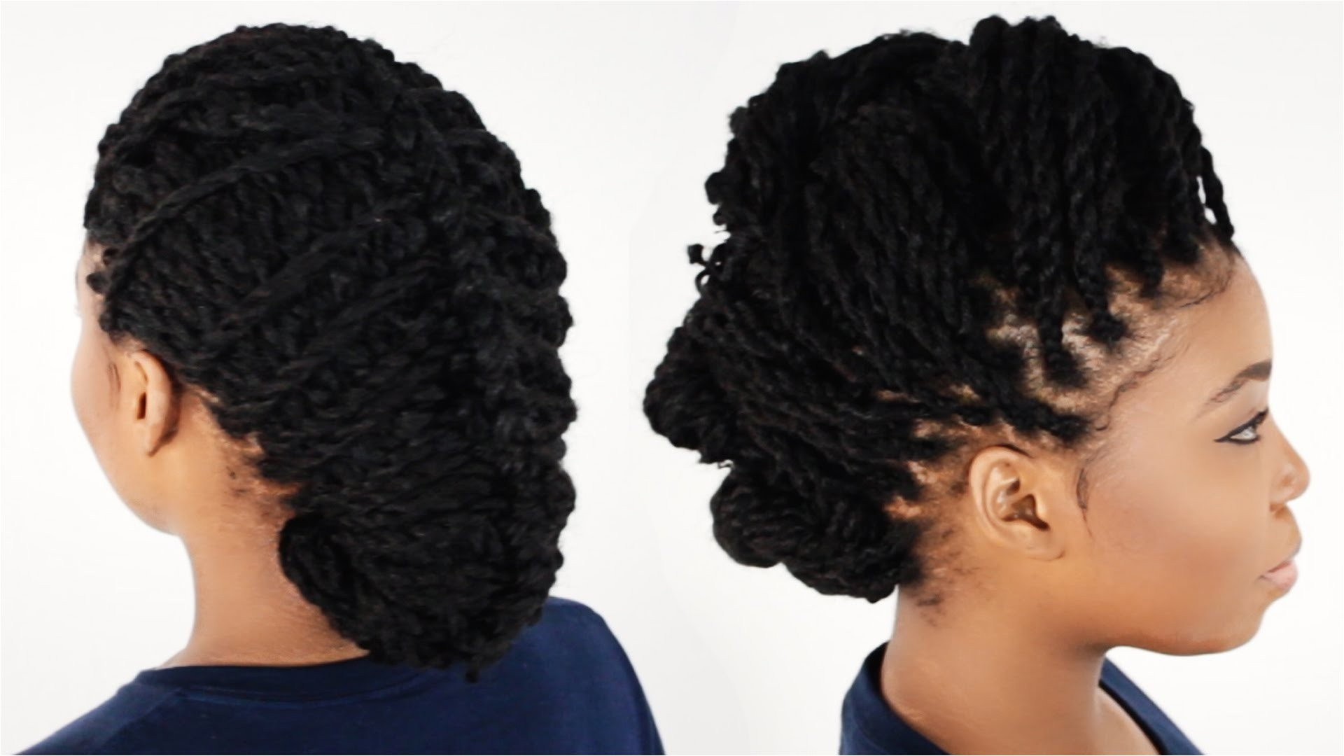 Two Strand Twist Hairstyles Beautiful 3 Ways to Style Your Kinky Twist Hairstyles Tutorial 6