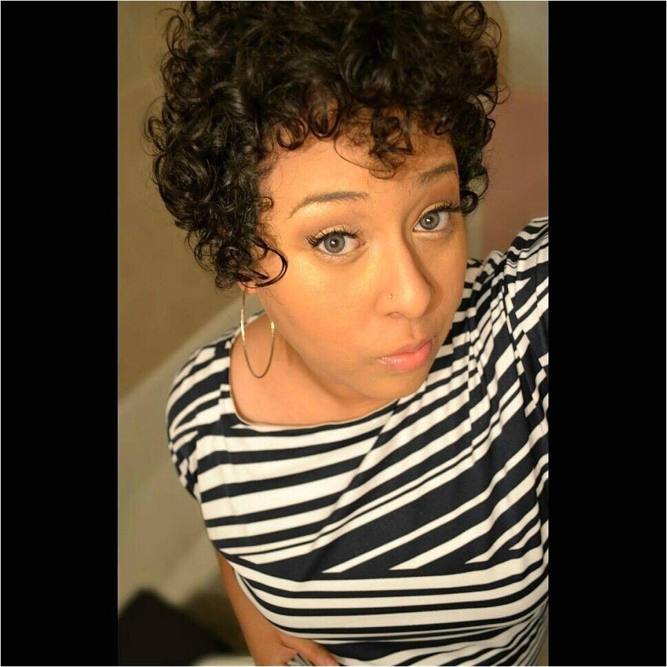 Short curly pixie cut 3b curls Mixed Biracial hair Short hair styles