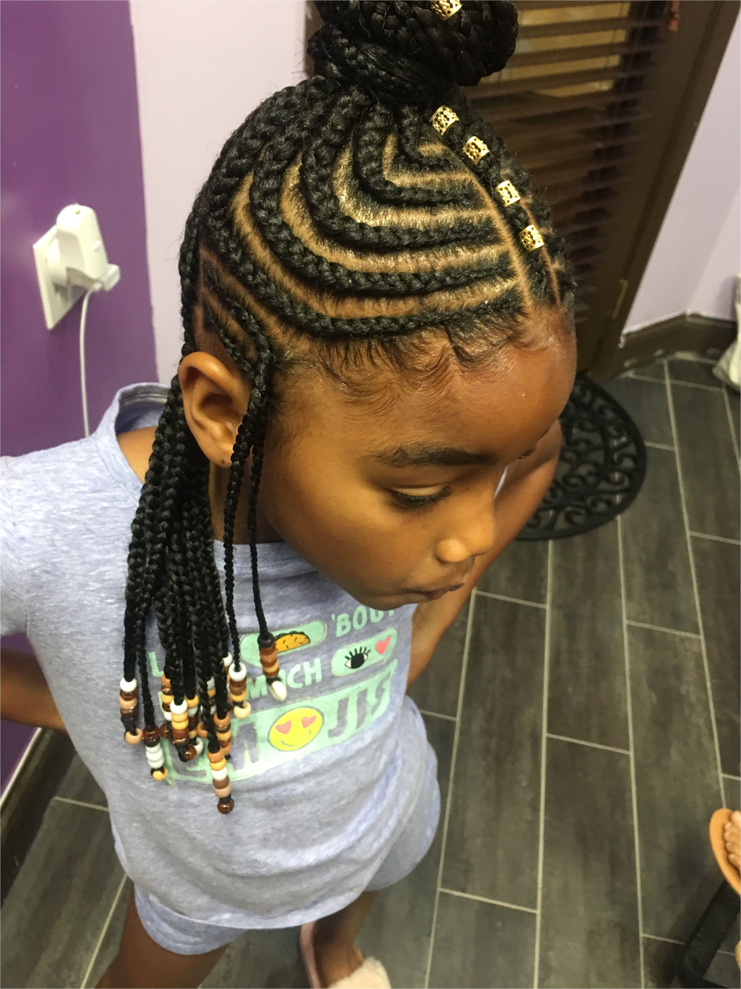 Hairstyle for 7 Yrs Old Black Girl