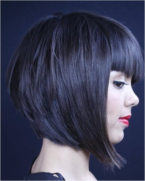 A Line Bob Haircut with Bangs 15 Classy A Line Bob Hairstyles