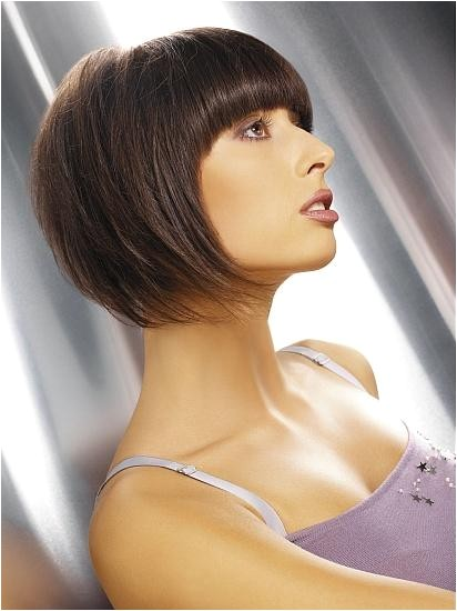 2009 a line bob with bangs