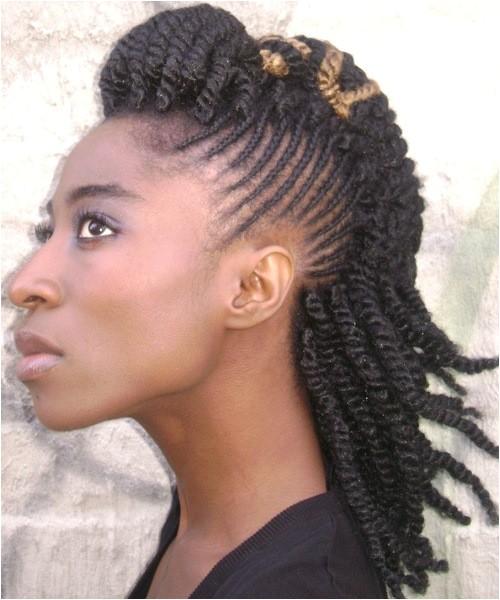 10 ghana braids mohawk turn heads