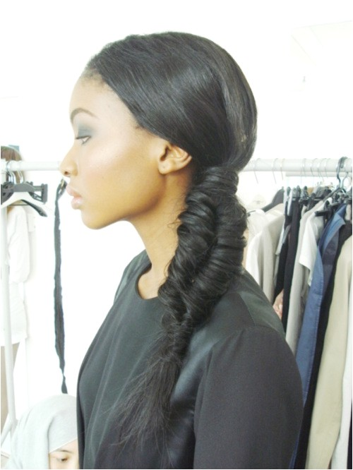 how to do a fishtail braid on the side step by step pictures