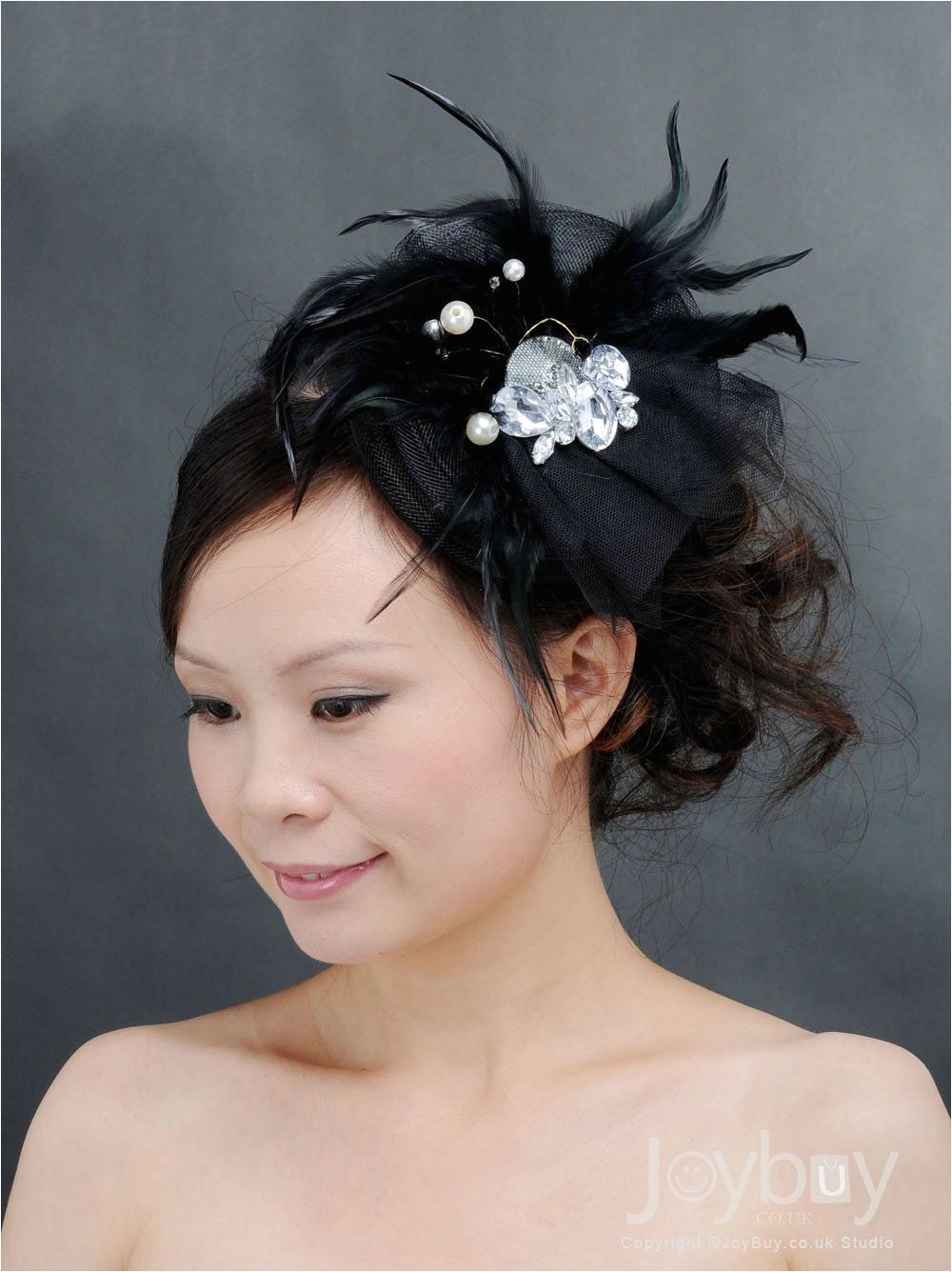 red and black hair accessories