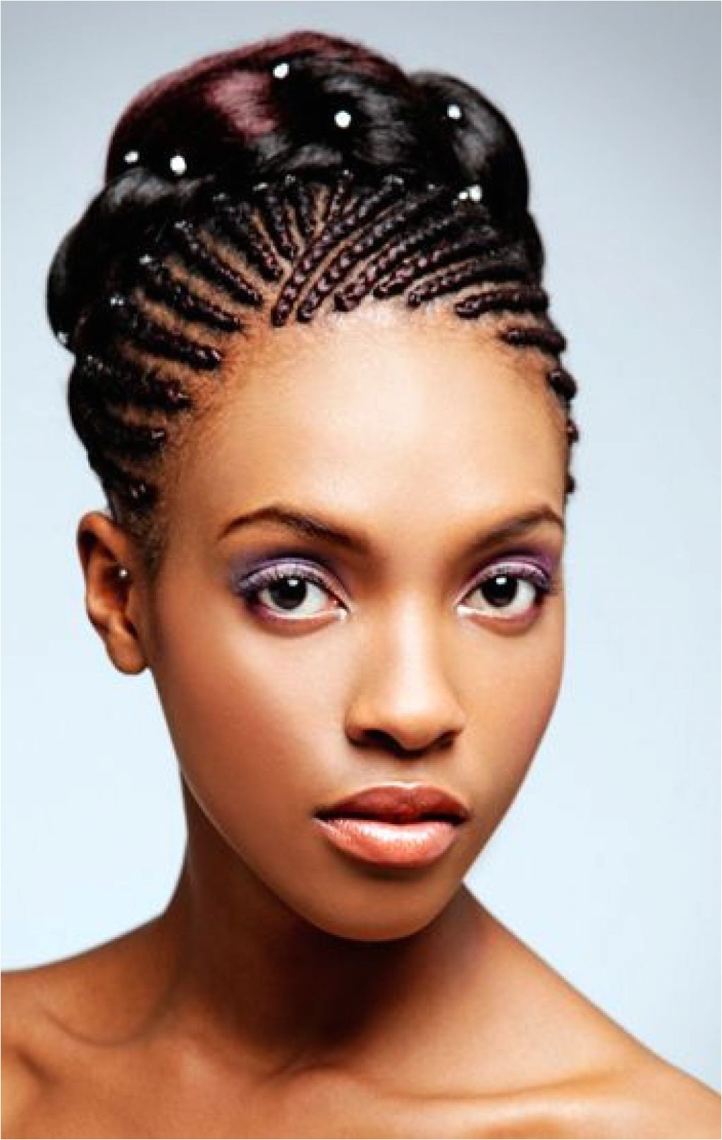 braids hairstyles for black women weddings