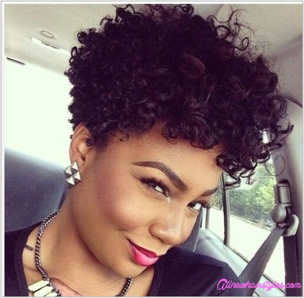 short cut natural curly hairstyles