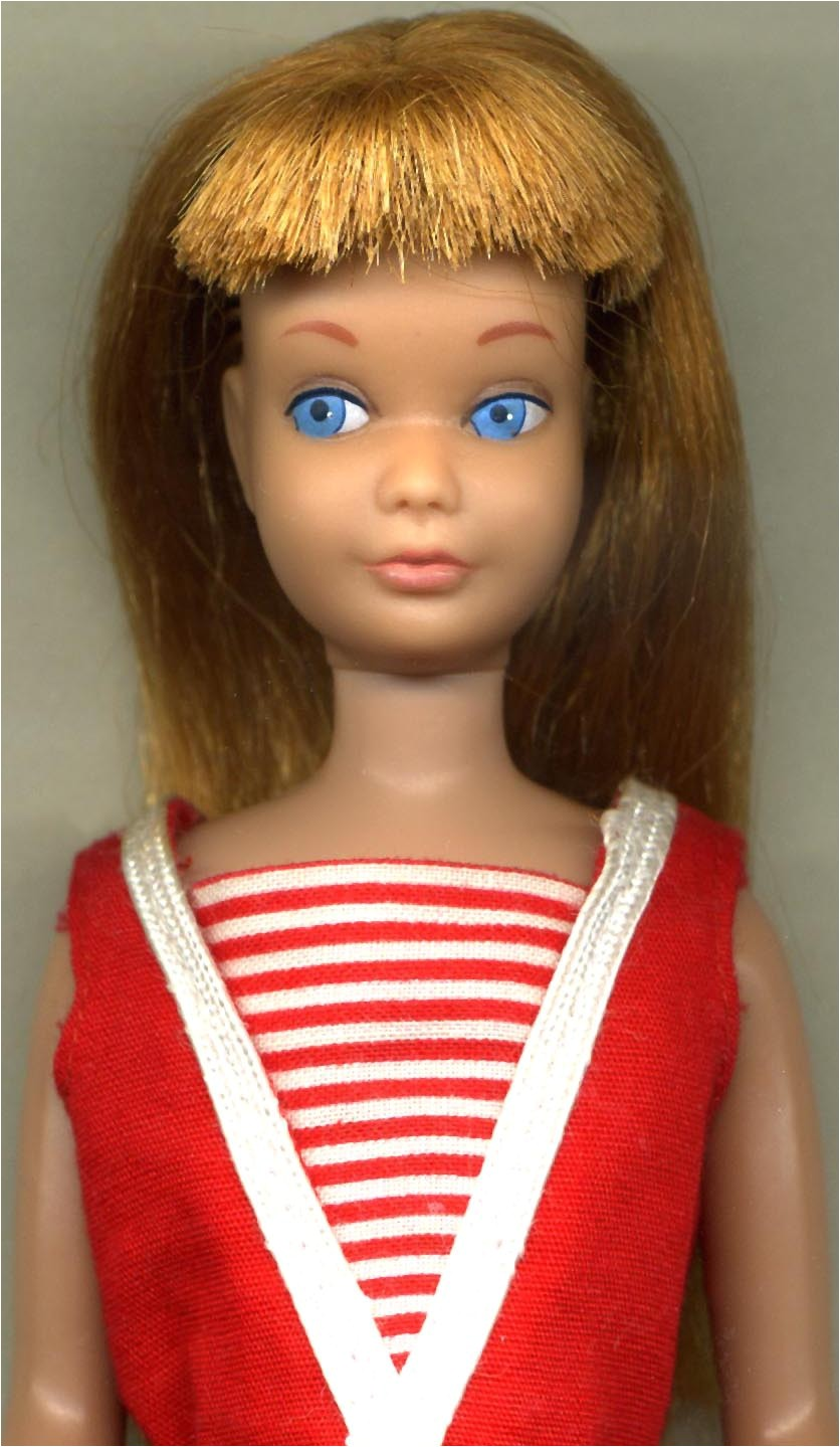 Skipper Barbie from American Girl Doll Hairstyles Book image source enpedia