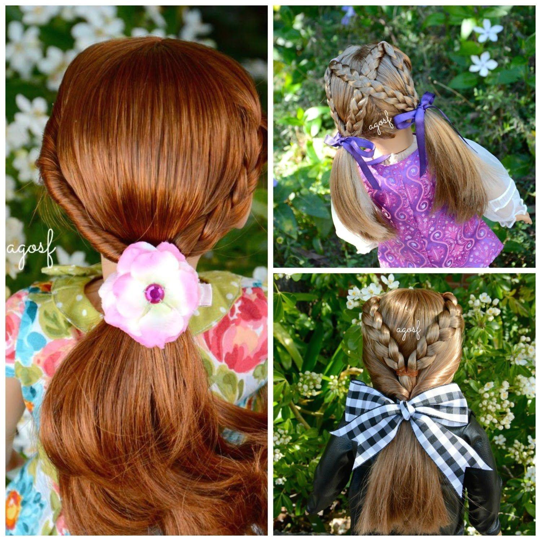 American Girl Doll Hair Salon Hairstyles by AGOverSeasFan HD WATCH IN HD