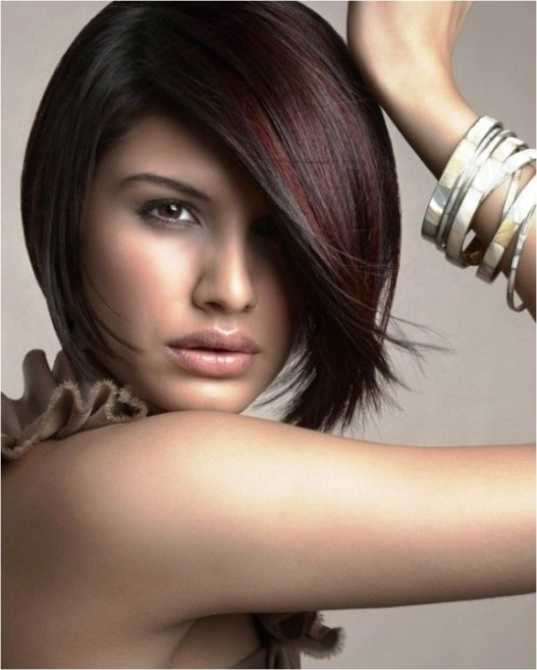 stylish angel bob hairstyle pictures