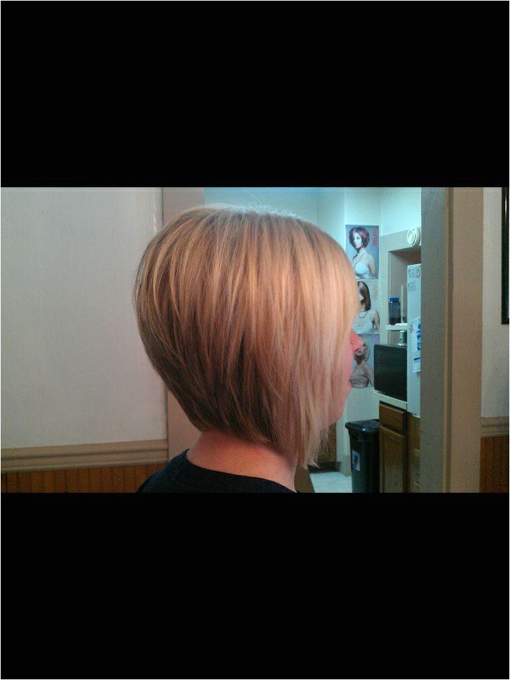 bob haircut stacked angled
