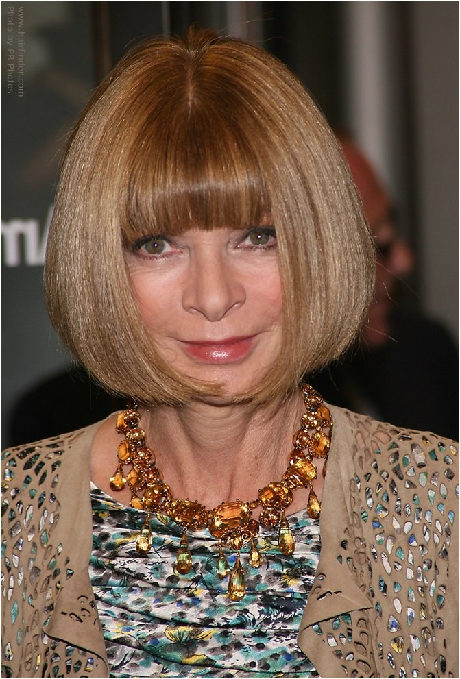 hairstyle anna wintour