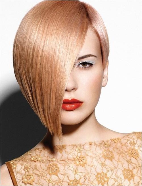 asymmetrical short bob haircut styles 2013