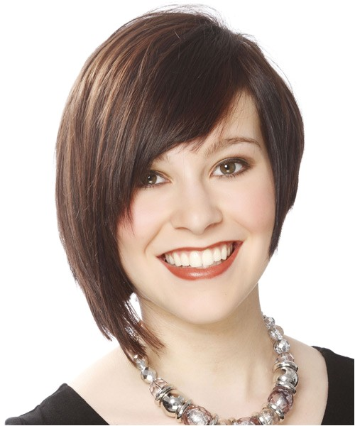 28 groovy inverted bob with bangs