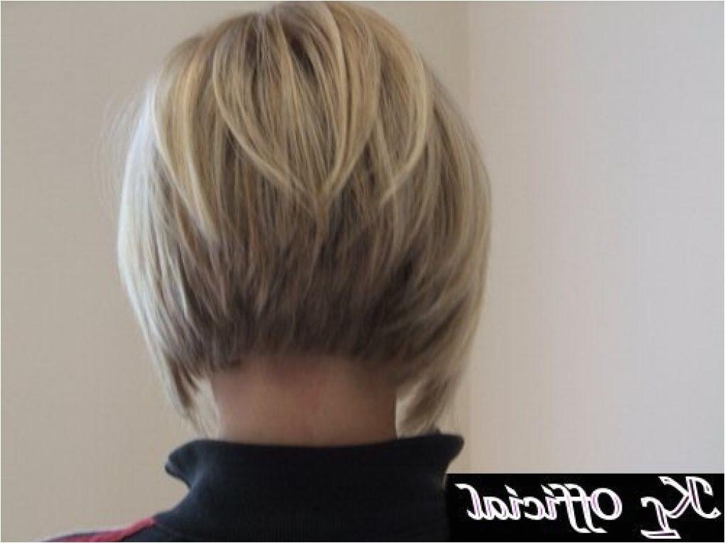 bob haircut short back long front