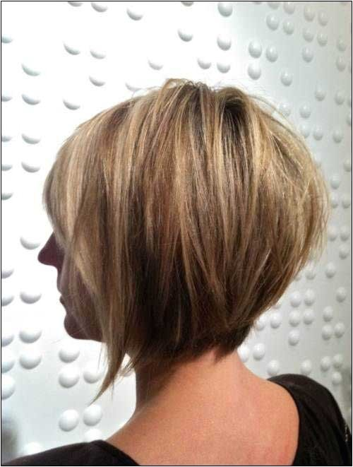 15 layered bob back view
