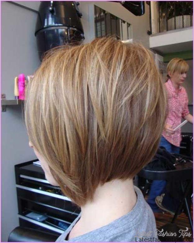 back view inverted bob haircut