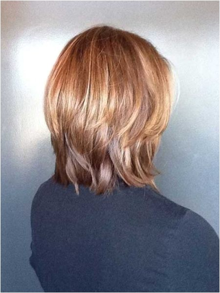 long layered bob back view intended for fortable