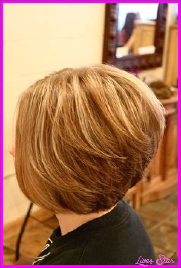 Back View Of Stacked Bob Haircuts Back View Of Short Hairstyles Stacked Livesstar