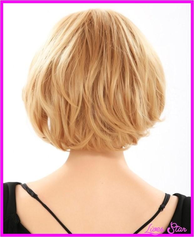 medium bob haircuts back view