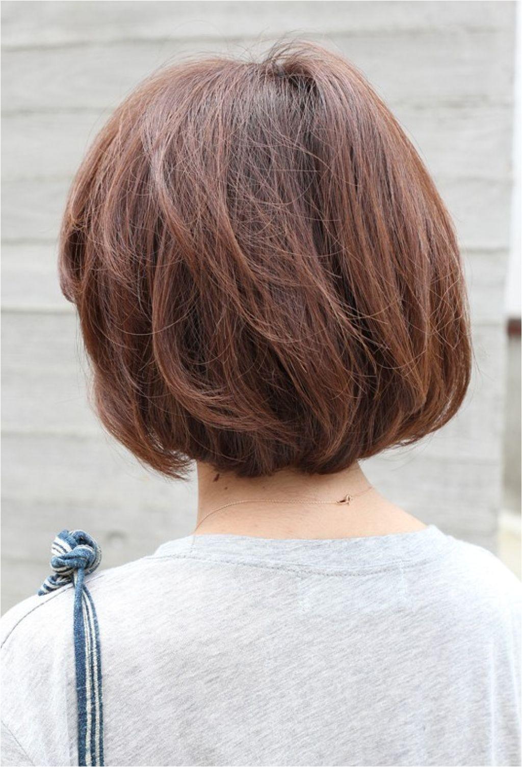 various short haircuts back views