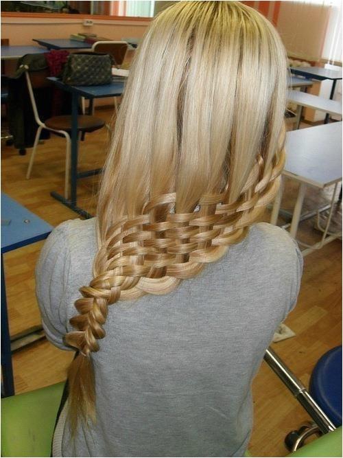 easter hairstyles basket weave braid