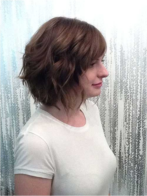 new cute hairstyles for short wavy hair