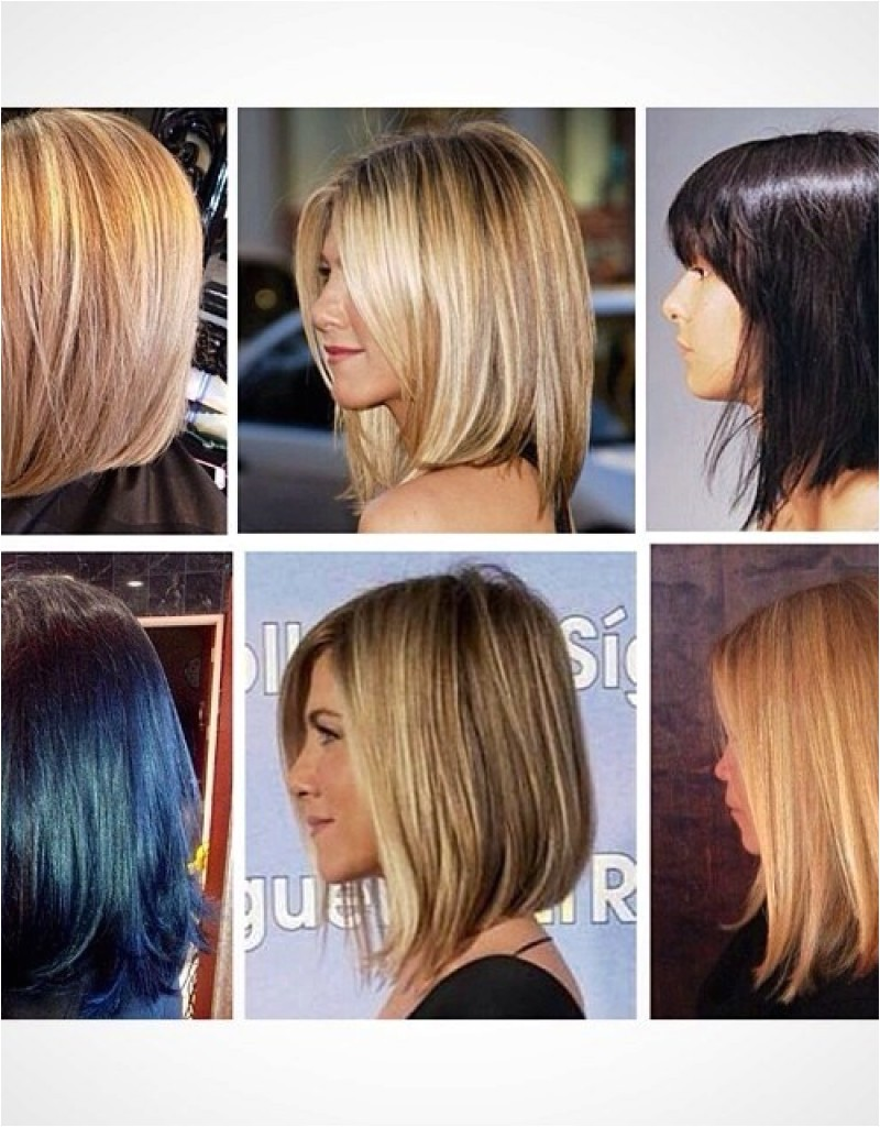 long haircut to bob before and after