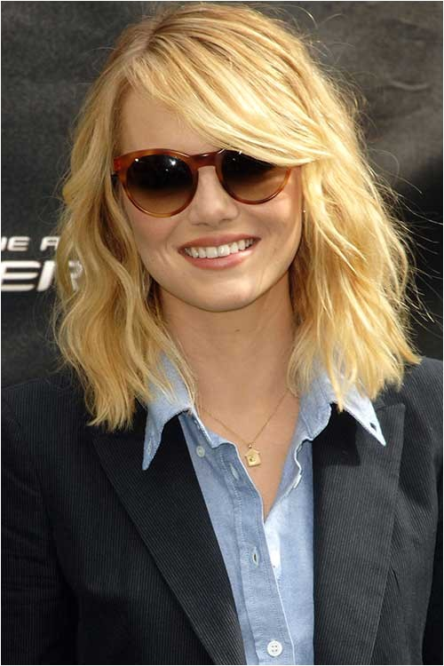 10 long bob haircuts for round faces