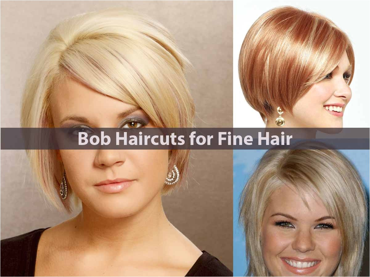 best bob haircuts fine hair