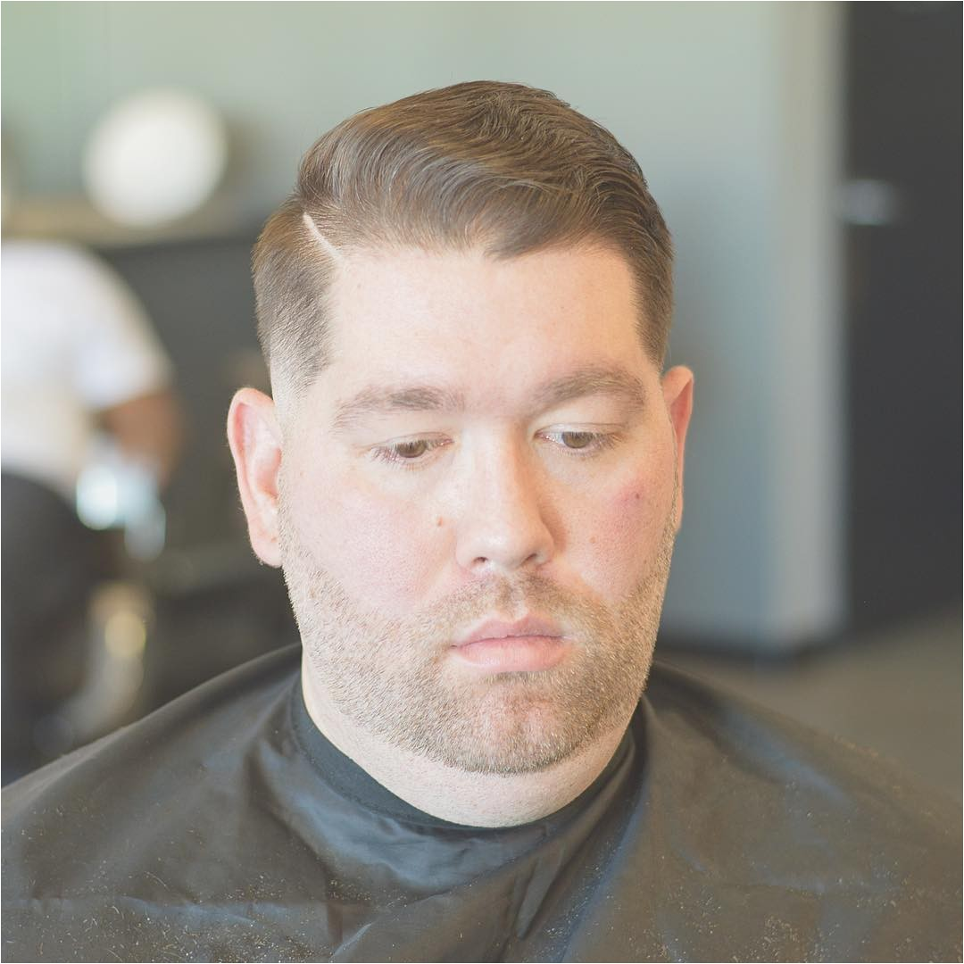 mens hairstyles fat face