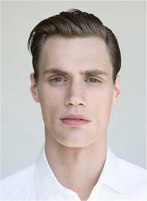 hairstyles for thin straight hair male