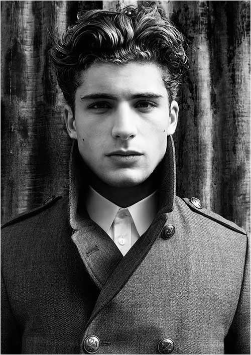 10 thick wavy hairstyles for men