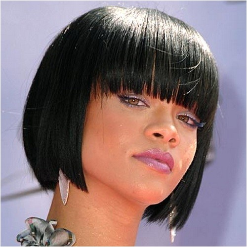 Black Bob Haircuts with Bangs Short Hairstyles for Black Women 2016 Hairstyle for Women