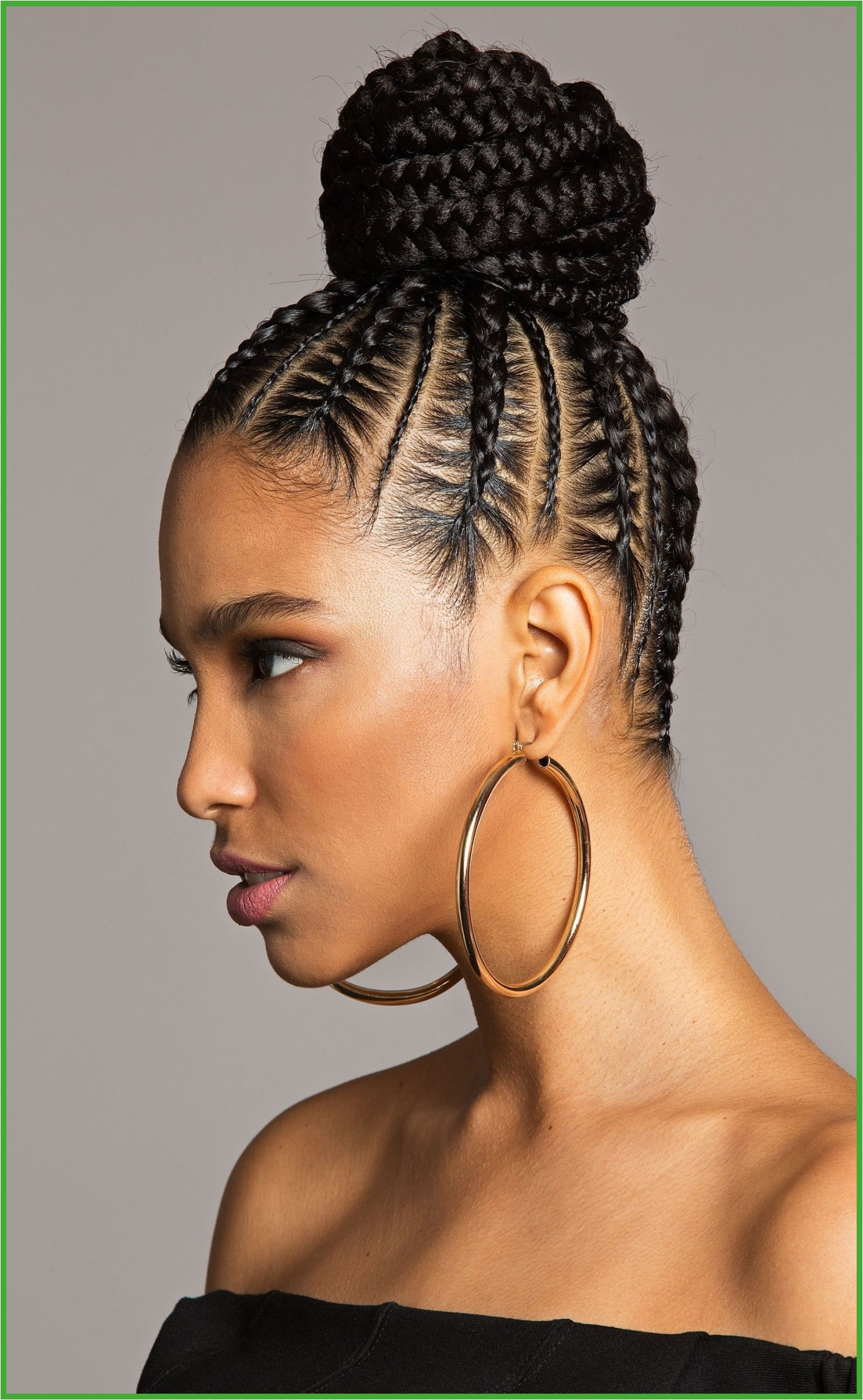 Braid Hairstyles Black Men You Re Going to Want to Wear This Bomb Braided Bun All Summer Long