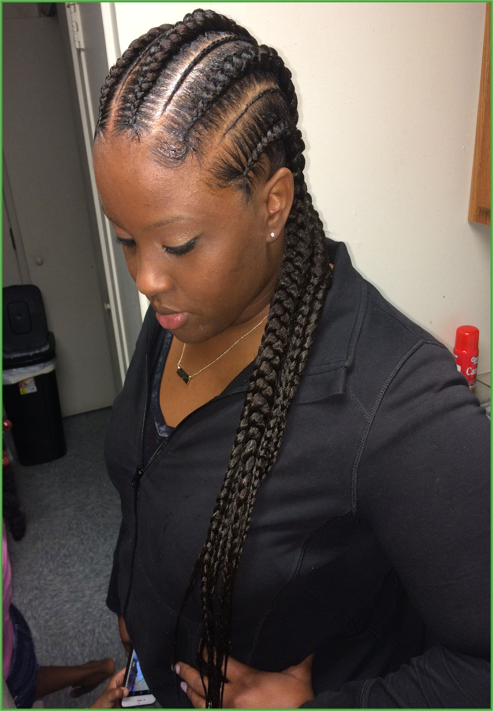 Feed In Braids Hairstyles Lovely Black Braided Hair Styles
