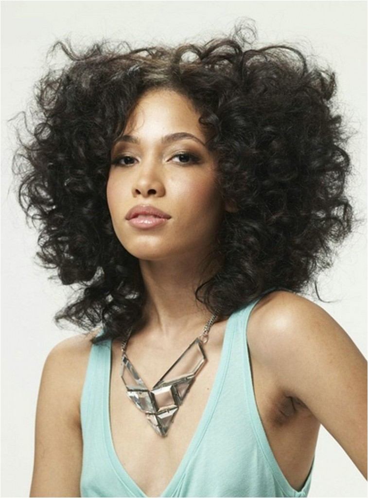 curly hairstyles for black women with weave