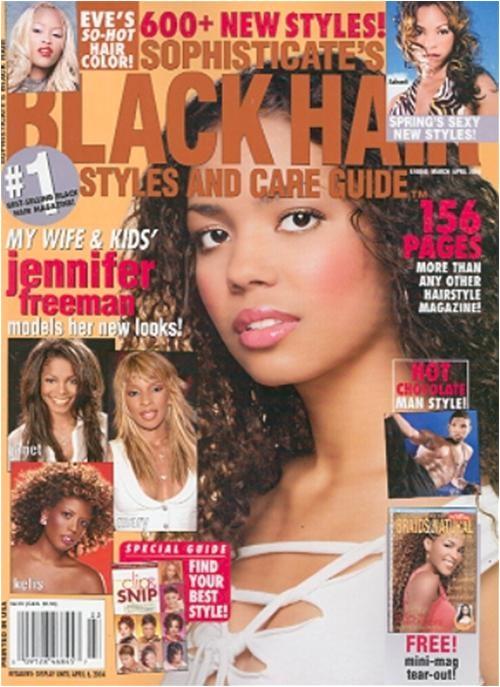 black hairstyle magazines online