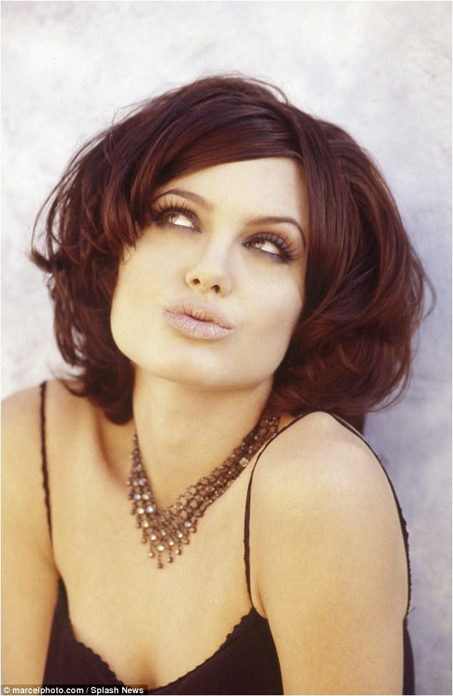Angelina Jolie s racy unseen shoot Hackers emerges