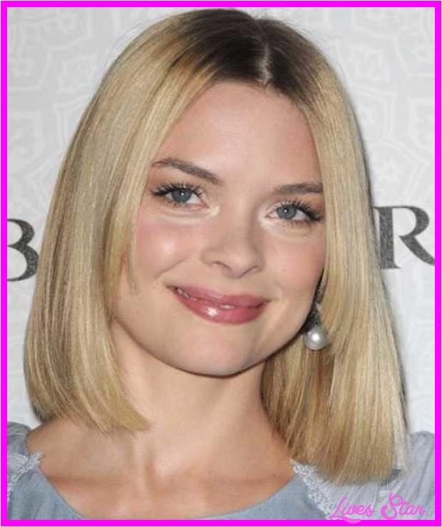 medium bob haircuts round faces