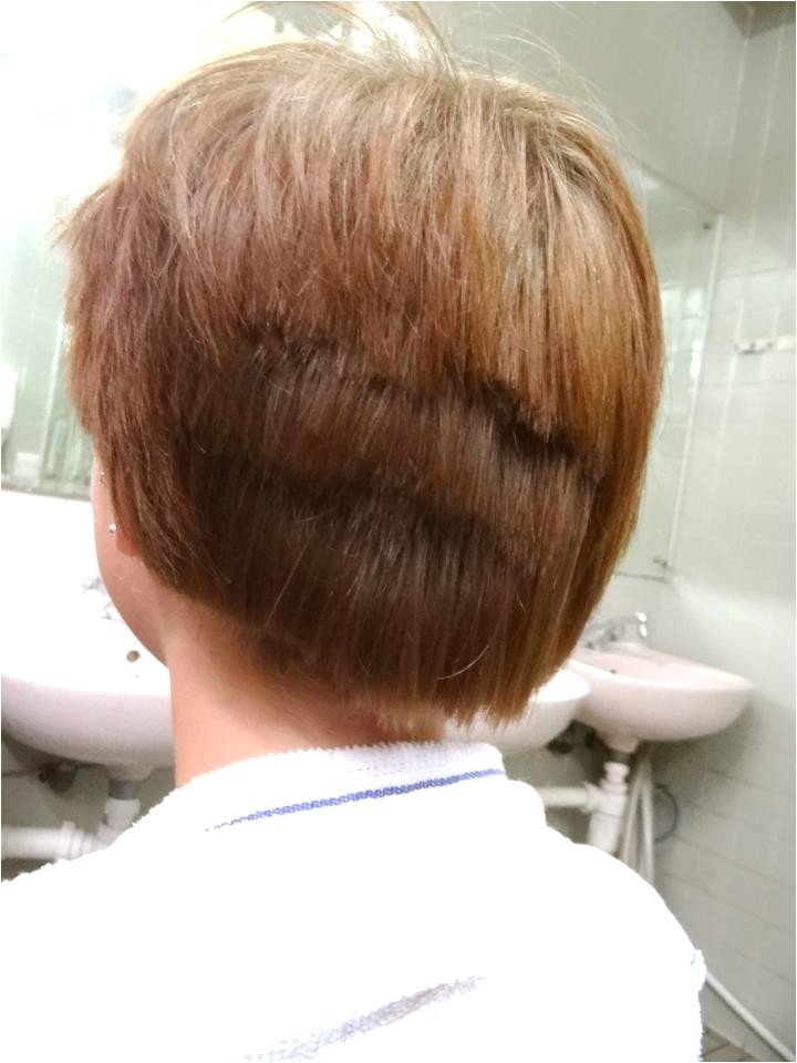 haircut gone wrong