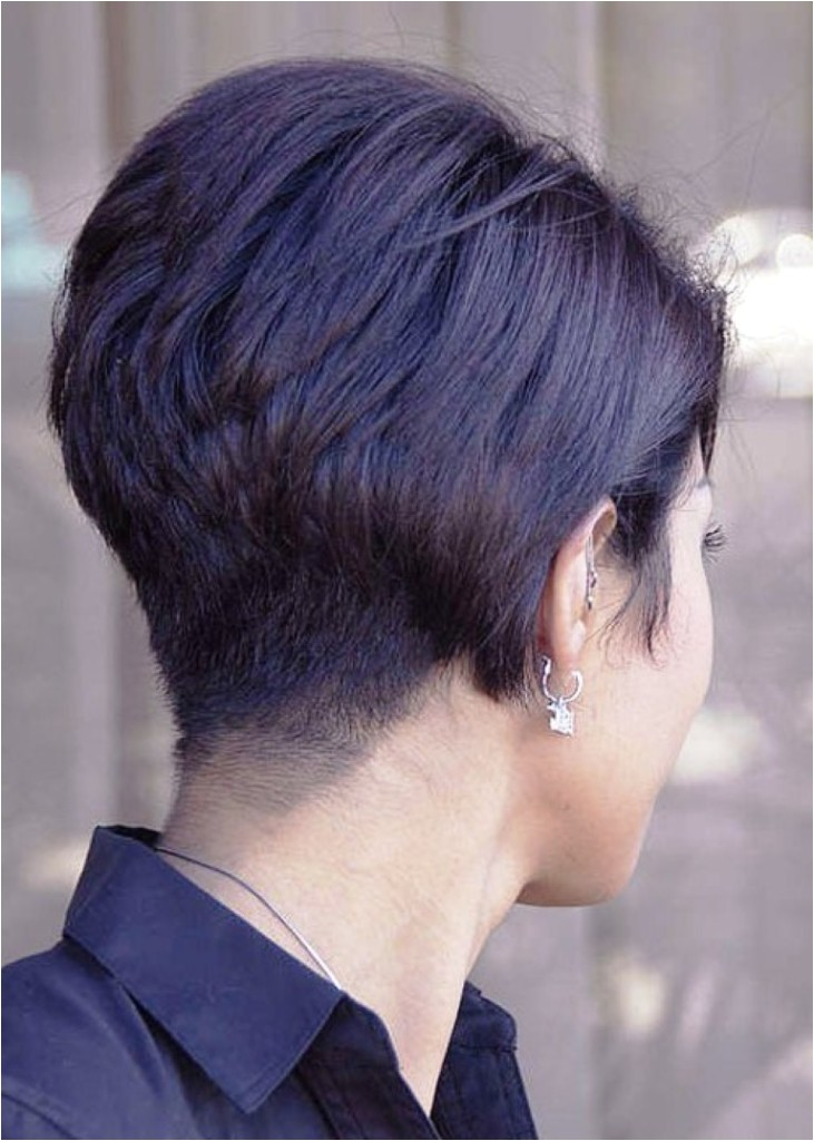 pictures of stacked short hair