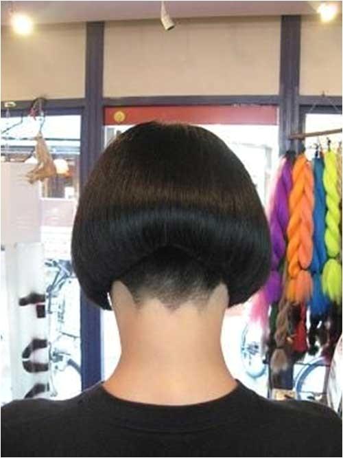Bob Haircut Shaved Nape 15 Shaved Bob Hairstyles Ideas