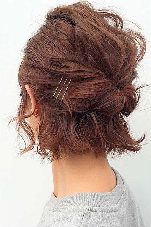 eye catching updo hairstyles for bob haircuts