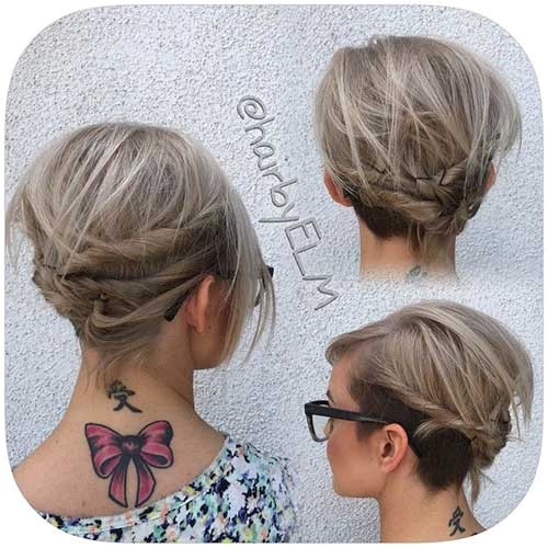 trending long bob updo ideas