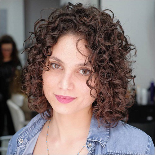 5 different versions of curly bob hairstyle