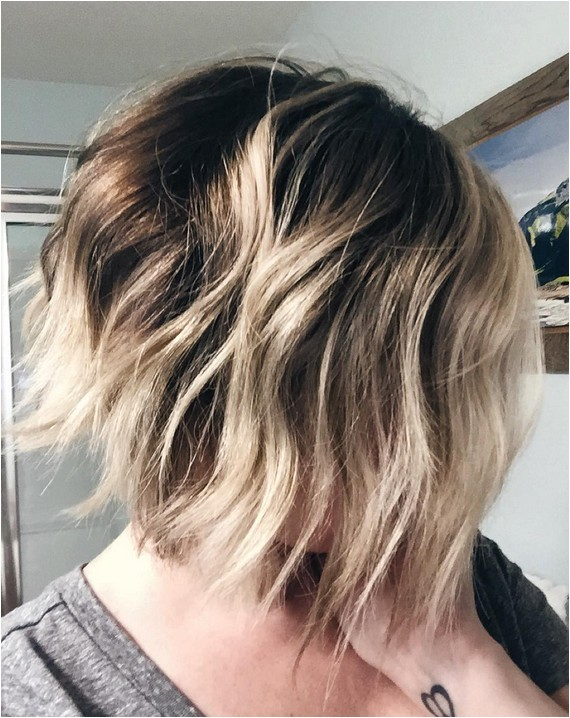 Bob Haircut with Ombre Highlights 22 Amazing Layered Bob Hairstyles for 2018 You Should Not Miss